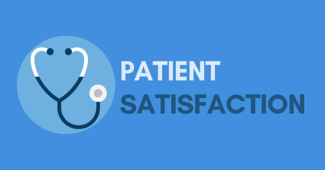 image of stethoscope stating patient satisfaction