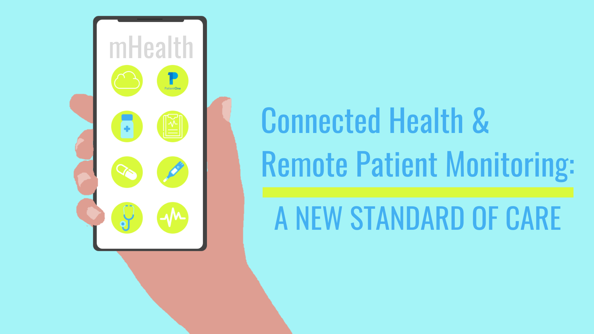 Connected Health image focusing on a new standard of care
